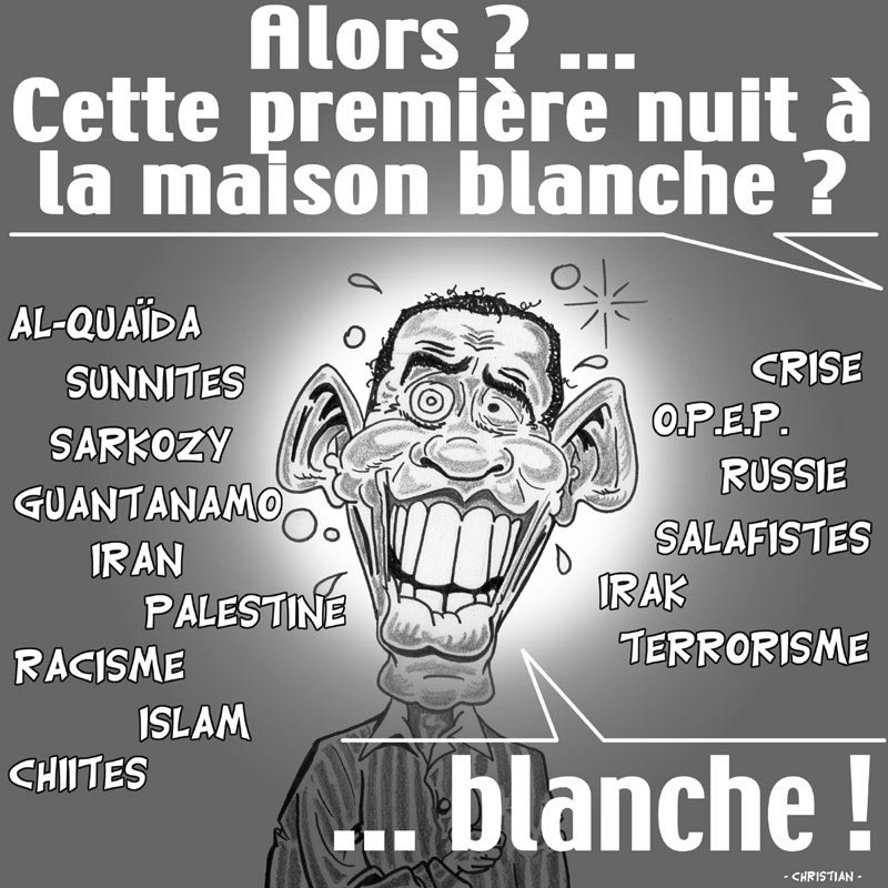 OBAMA : Nuit … blanche !