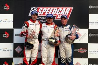 Jean Alesi et Johnny Herbert gagnent à Bahrein