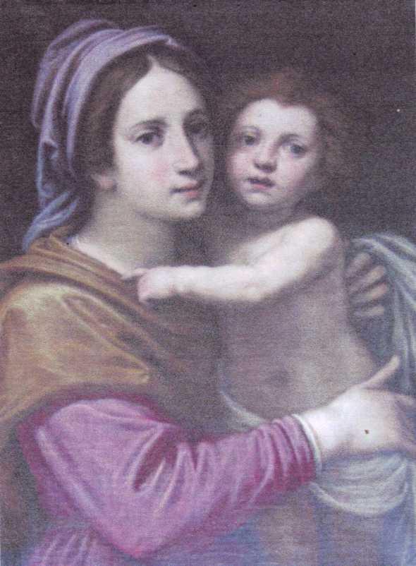 Vierge à l'enfant….deux fois miraculée