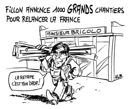 Les 1000 chantiers de Fillon