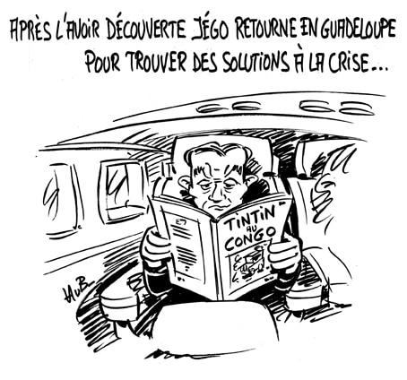 Yves Jégo retourne en Guadeloupe pour trouver une issue à la crise