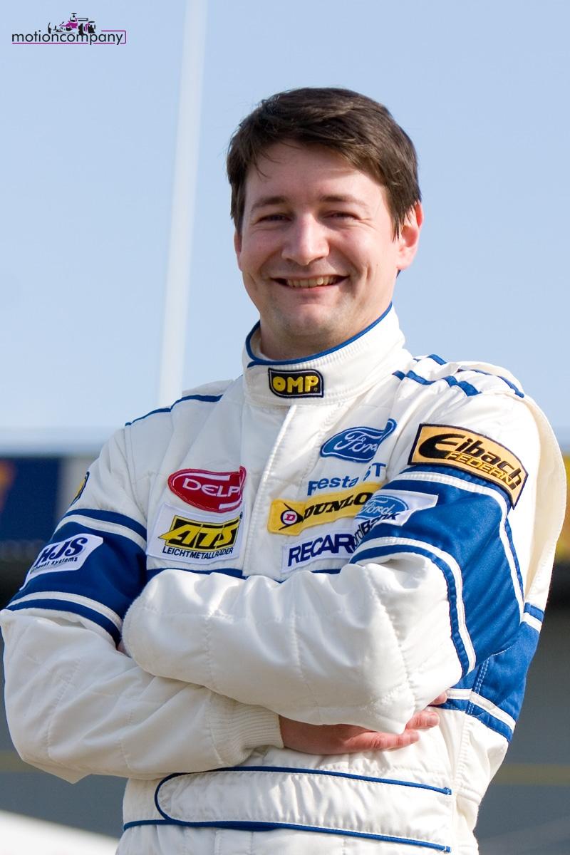 Julien BARTHET au volant d'une Formule 3