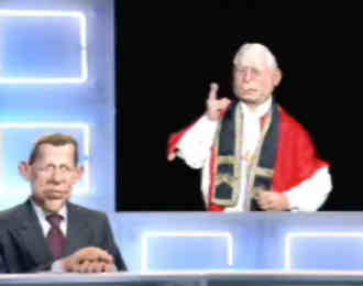 Quand la presse veut se payer le pape…