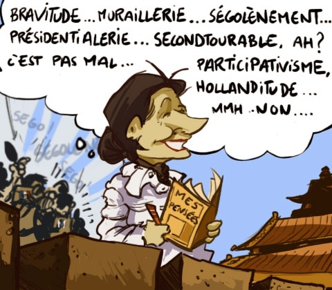 Ségolène Royal a-t-elle le droit de parler au nom de la France ?
