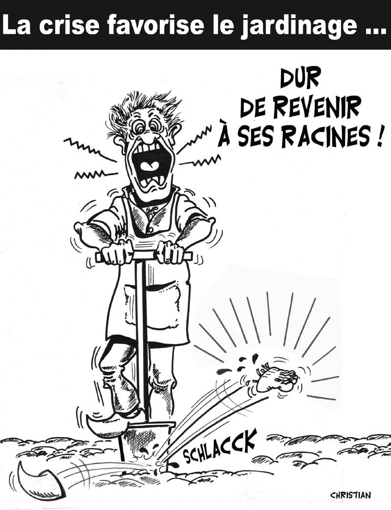 Crise oblige, les français redécouvrent le jardinage …