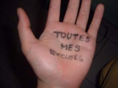 « L'Excusitude Attitude » ou le Politessement Correct !!!