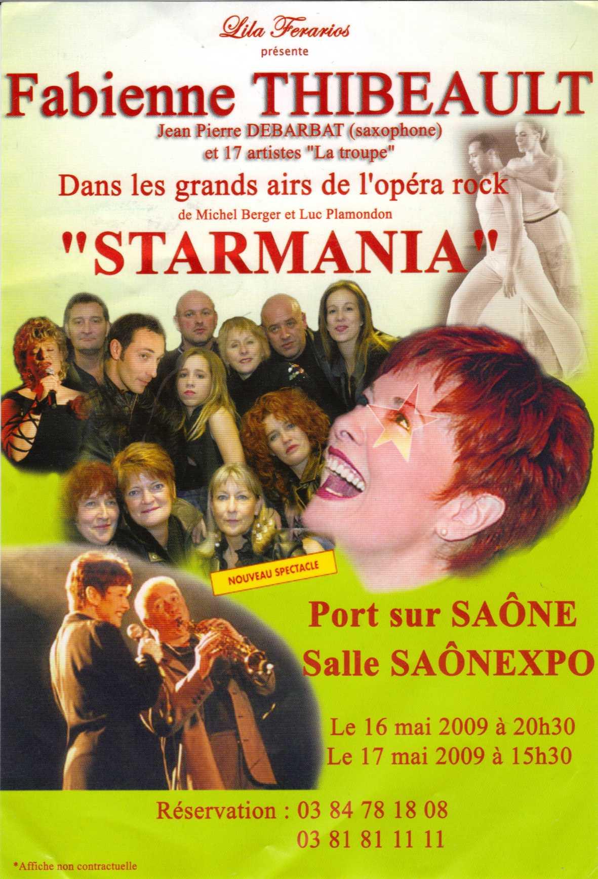 Le monde est Stone à PORT SUR SAONE (70) – STARMANIA à SAONEXPO