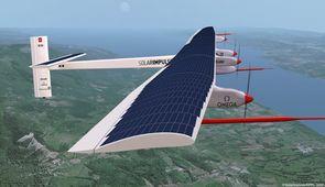 Icare n'est plus un mythe, l'avion solaire décolle pour un tour du monde