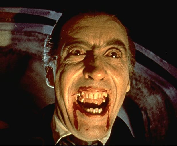 Vieilles gloires dorées : Christopher Lee (en Dracula)