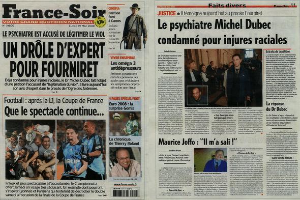 Le dr Michel Dubec rattrapé par sa notoriété