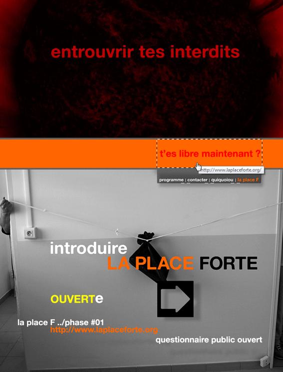 Aguichage et vrombruissage™ sont les deux mamelles de La Place forte (virtuelle)