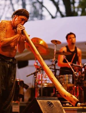 LE DIDGERIDOO : des Aborigènes à la jeunesse occidentale.