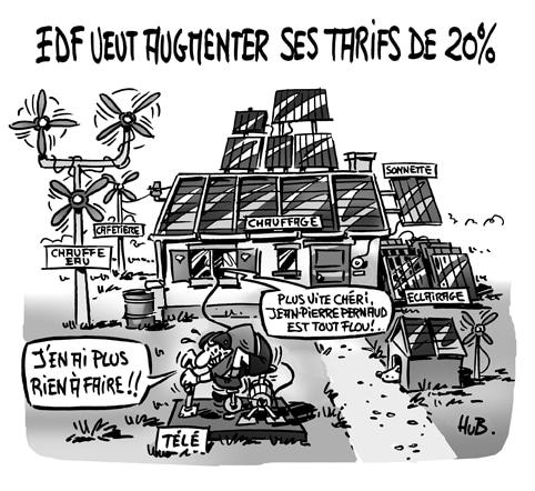Tarifs EDF : pétage de plombs du producteur… au consommateurs