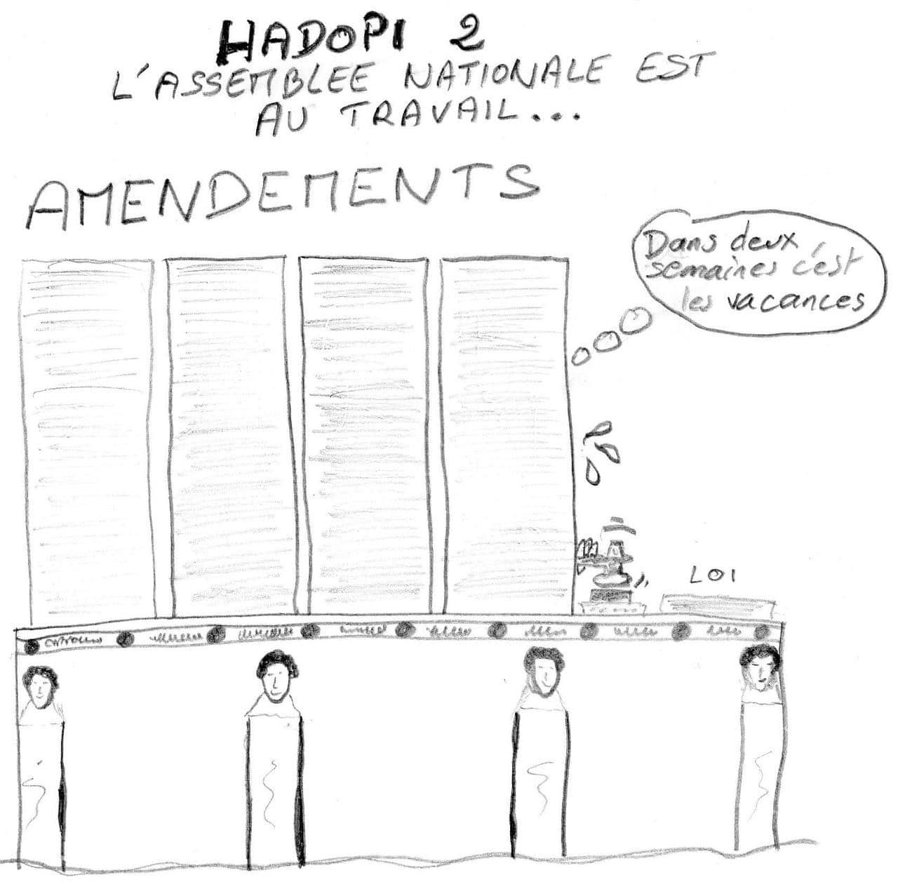 Hadopi 2, l'assemblée chauffe !