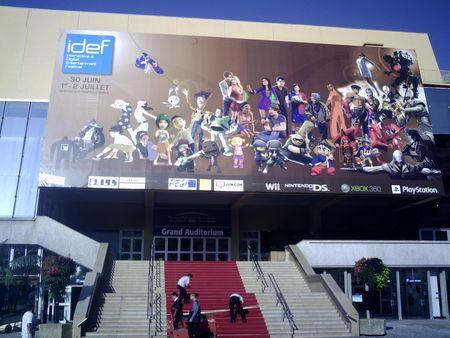 Jeux vidéo – bilan de l'IDEF de Cannes 2009 : Reportage pour C4N