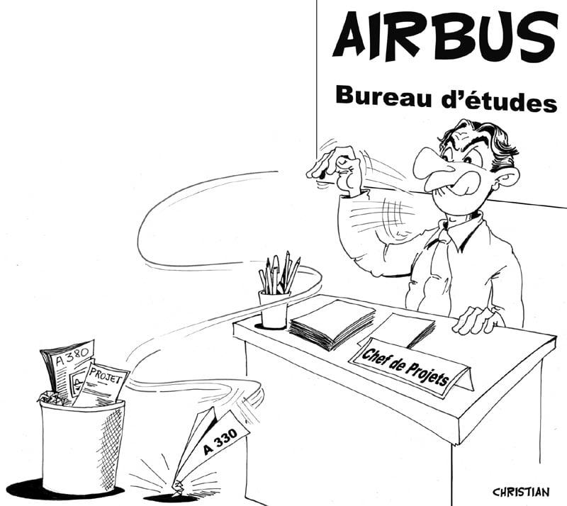 AIRBUS va avoir du mal à vendre le A 380 …
