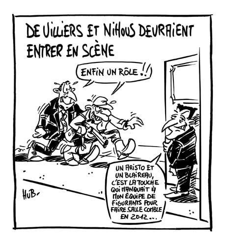 De Villiers et Nihous bientôt au gouvernement?