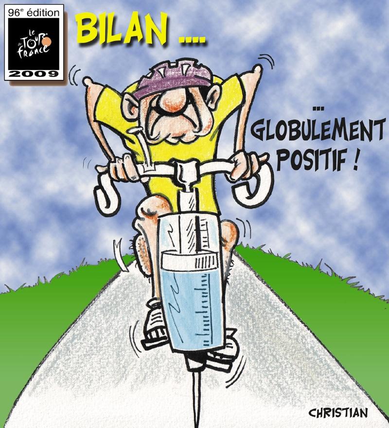 TOUR DE FRANCE 2009 : bilan …