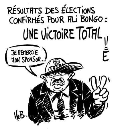 Ali Bongo nouveau président du Gabon