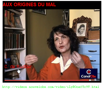 Chantal de Rudder se distancie du « Plaisir de tuer » (le titre du livre).