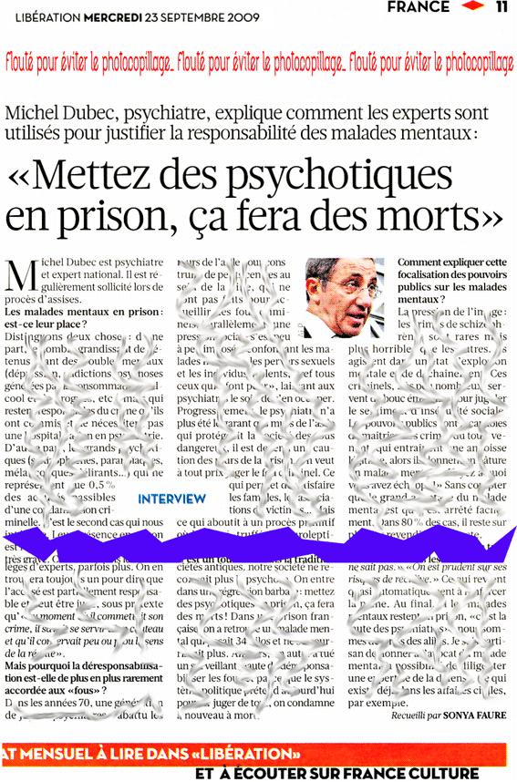 Le Dr Michel Dubec poursuivi par l'Ordre départemental parisien des médecins…