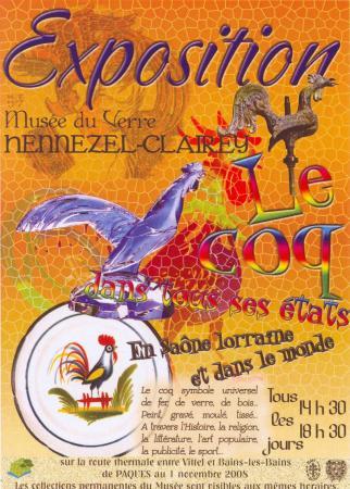 Le coq dans tous ses états et d'autres merveilles à HENNEZEL-CLAIREY en Sâone Lorraine