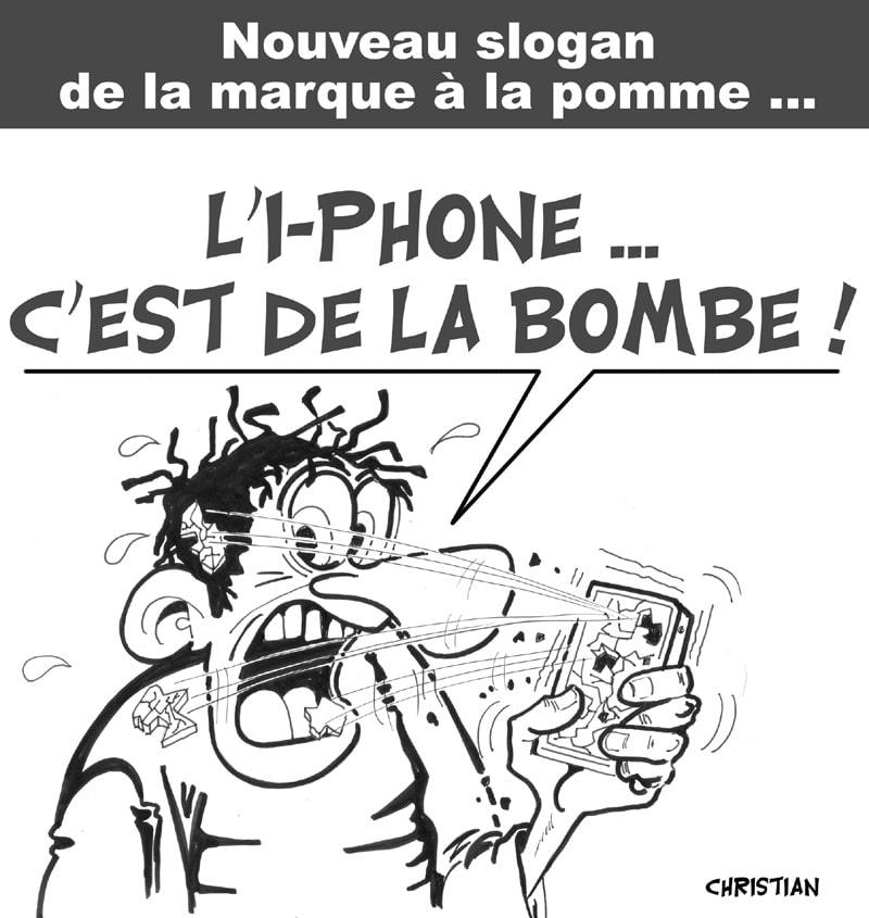 i-phone et i-pête … !
