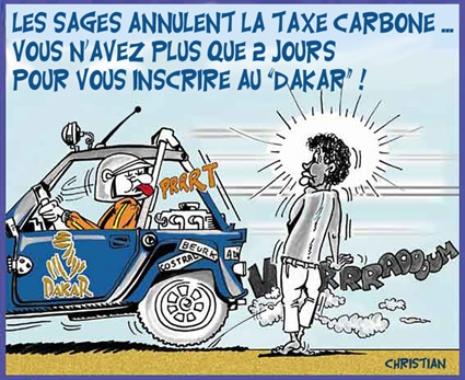 «Taxe carbone» anticonstitutionnelle !