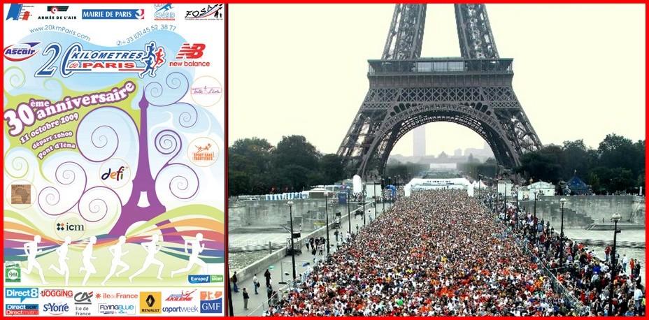 20 km de Paris, la ligne d'arrivée en images !!!
