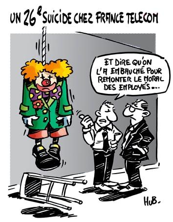 Un 26ème suicide serait à déplorer chez France Télécom
