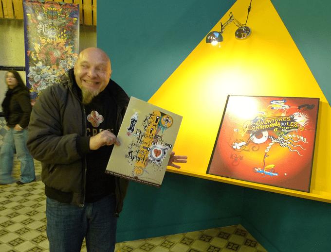 Jean-Jacques Tachdjian, écrivain au fusain virtuel…