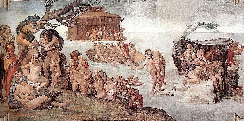 Le Mythe du déluge : la légende de Gilgamesh.