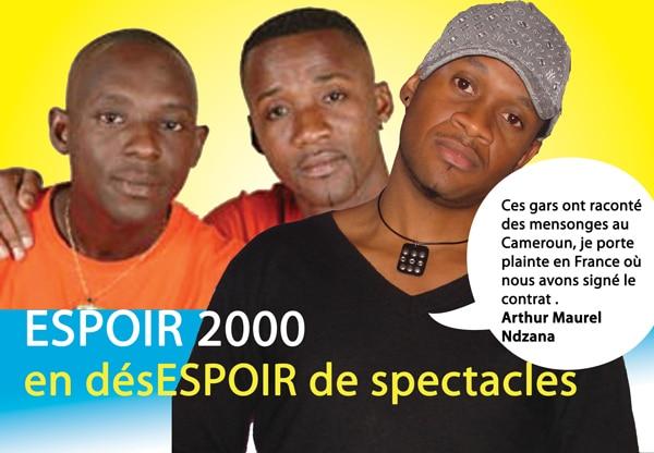Espoir 2000 avait menti aux Camerounais