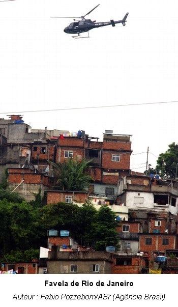 Scènes de guerre à Rio de Janeiro