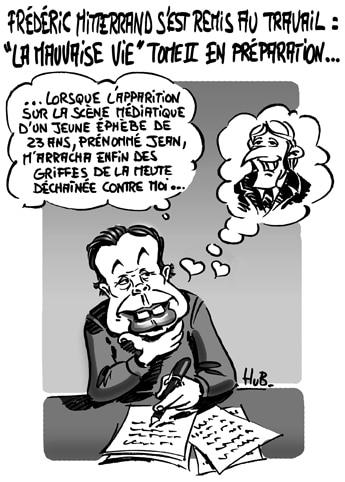 Frédéric Mitterrand s'est remis au travail…
