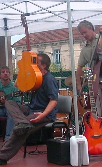 Jazz manouche à Noidans lès Vesoul – Jan Vaclav Vanek & Laurent Dujin