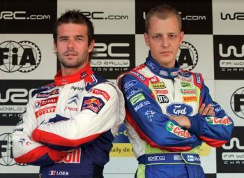 Loeb & Hirvonen : Qui sera champion du monde des rallyes ?