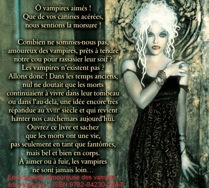 Katherine Quénot : « Les vampires ? mon cœur y croit ! »