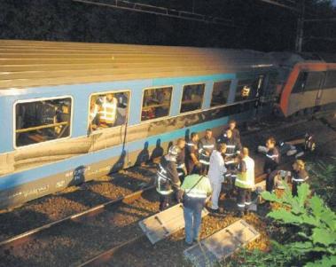 Le déraillement d'un train en Russie serait probablement un attentat terroriste !