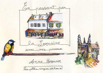 ANNE BRONNER, les pinceaux inspirés