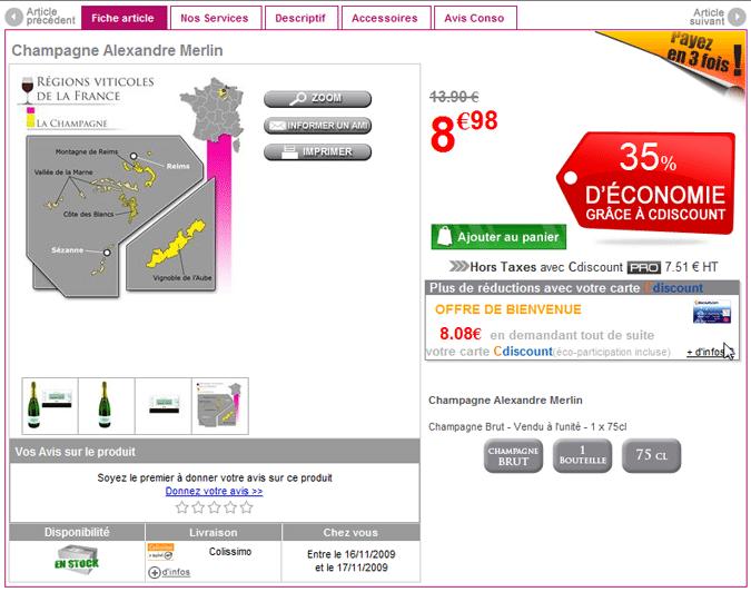 Le champagne à moins de dix euros n'est pas si nouveau…