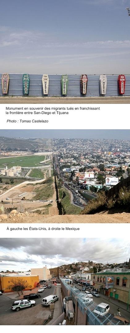 Cinq mille croix à la frontière entre le Mexique et les États-Unis