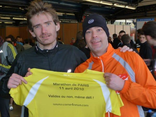 Olivier DONVAL : un nouveau Défi pour 2010, le Marathon de Paris