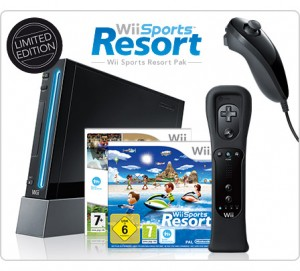 La Wii «Black édition» cartonne en Grande Bretagne !