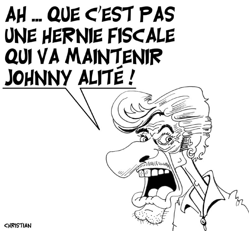 Johnny Ha … alité !