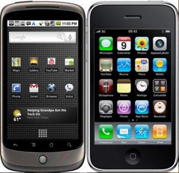 Le Nexus One de Google: mieux que l'iphone ?