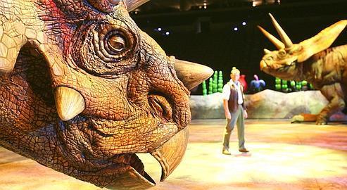 Les Dinosaures: ils ont enfin leur spectacle pédagogique grandiose!