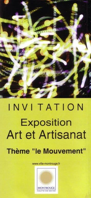 Montrouge: Expo Art et Artisanat 2010