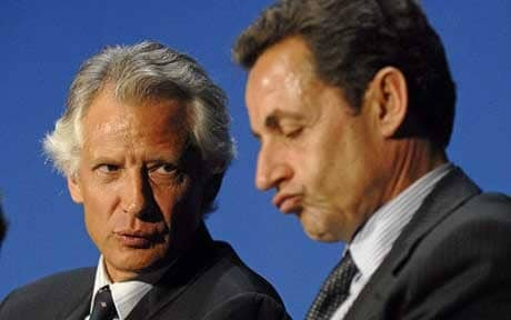 ELECTIONS PRESIDENTIELLES 2012 : De Villepin-Sarkozy : «Je te Hais, Moi aussi»