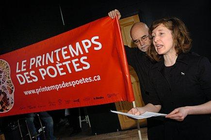 Le Printemps des poètes  :»couleur femme»